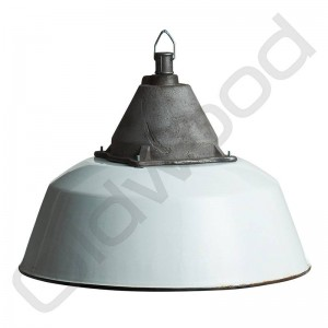 Industriële lamp - Anaya wit