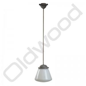 Oude schoollamp