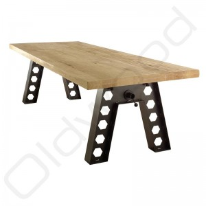 Robuuste houten tafel - Austin