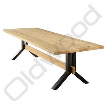 Robuuste houten tafel - Harlem