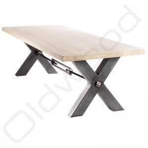 Robuuste houten tafel - Kansas