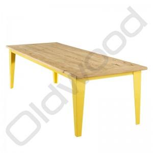 Robuuste houten tafel - Malaga