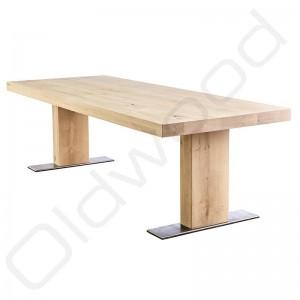 Robuuste houten tafel 'Londen'