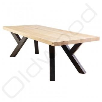 "Robuuste houten tafel ""Sturdy Leg"""