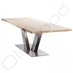 Robuuste houten tafels - Industriële tafel Rome