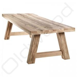 Robuuste tafels - Oud eiken houten tafel Milaan
