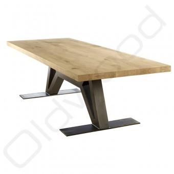 Robuuste houten tafel - Flying Dutchman